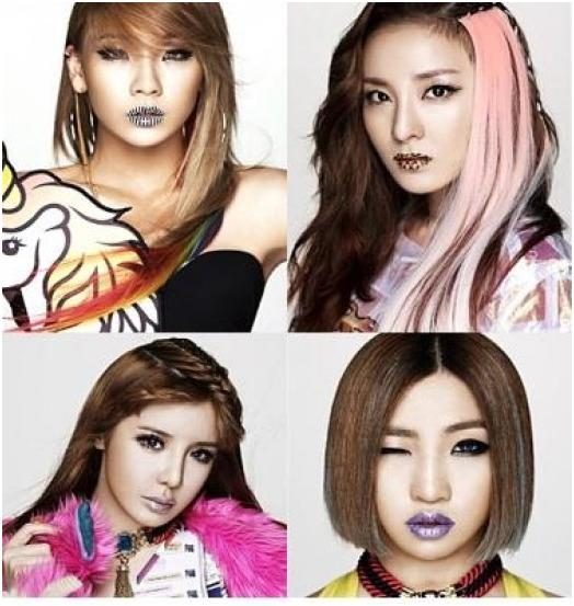 news 2ne1 is drawing a lot of attention with strong