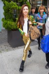 Celebrity Sightings In New York City - August 21, 2012